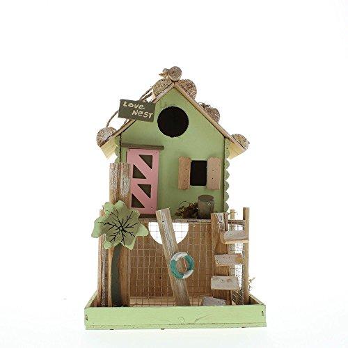 Love Nest Wooden Birdhouse Decorative Bird Houses Bird House Decorations Birdhouses for Outside and Birdhouses for Outdoors Great Birdhouse Designs and Wooden Birdhouses