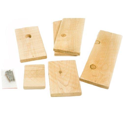 Songbird Essentials DIY Build A Birdhouse Chickadee Kit Made of Cedar Wood Great Project for Kids