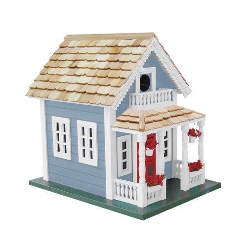 Newburyport Cottage Birdhouse Blue