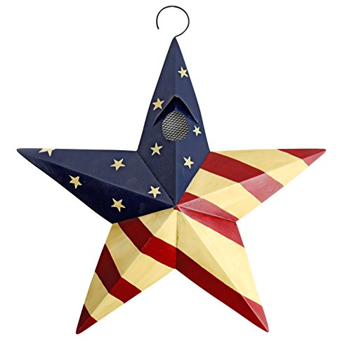 Red Carpet Studios Metal Star Birdhouse Flag