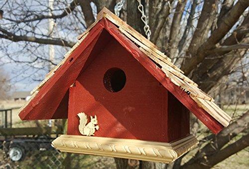 Garden Wren Bird House Lavender