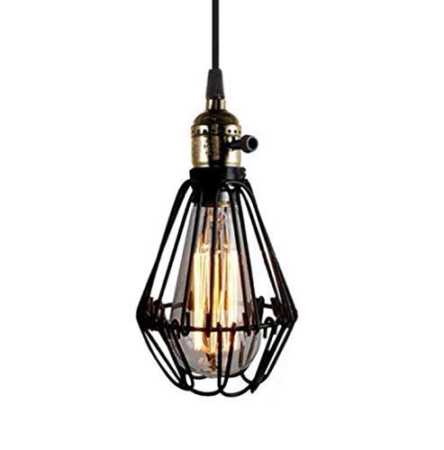 Retro Chandelier Industrial Style Creative lamp Restaurant Simple bar Cafe Single Head Iron Chandelier
