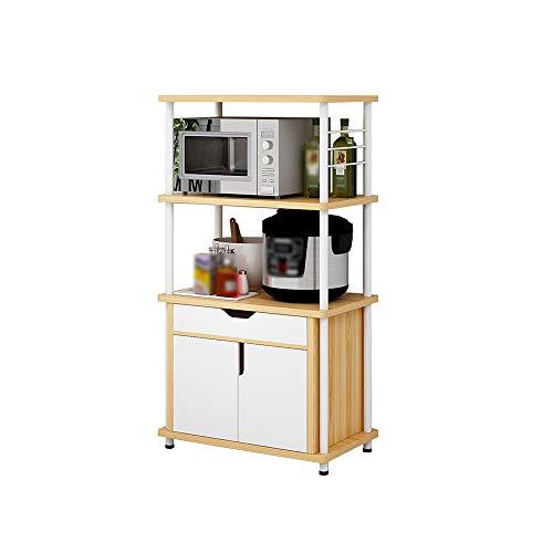LXY Kitchen Shelf Microwave Oven Bread Rack Kitchen Storage Rack Kitchen rack Size  60x36x1098cm