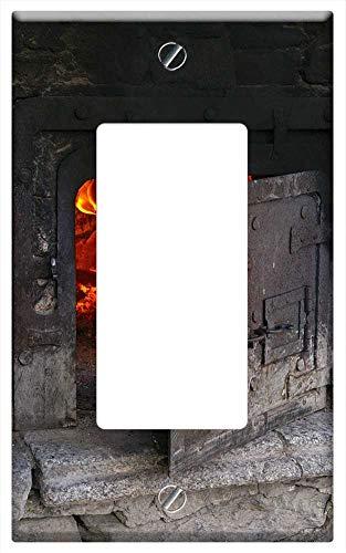 Switch Plate Single RockerGFCI - Backhaus Stone House Bread Baking The Village Oven