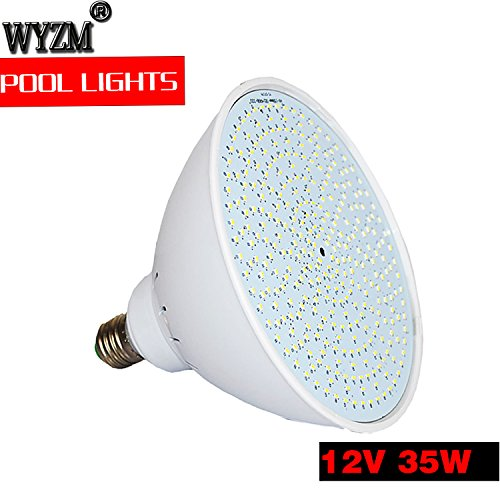 Wyzm 12volt Color Changing 35watt Swimming Pool Lights Led Bulb For Pentair Hayward Light Fixture 12v 35w