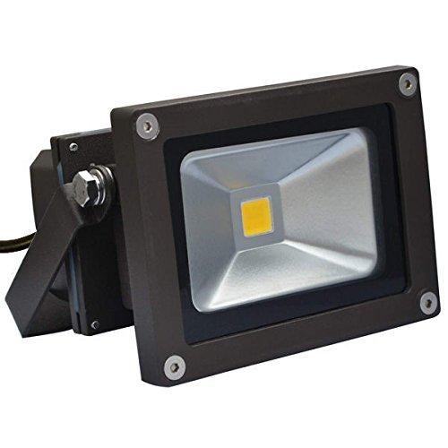 Bronze 1015W LED Flood Light Fixture Waterproof 5000 Kelvin 120 Deg Beam Angle 50W Equal