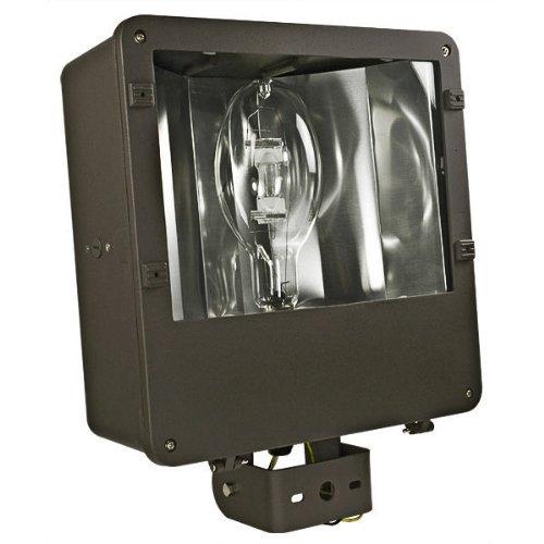 PLT FL70M400QLBR - 400 Watt - Pulse Start - Metal Halide - Flood Light Fixture - 120208240277 Volt - WIRED TO 277V TAP