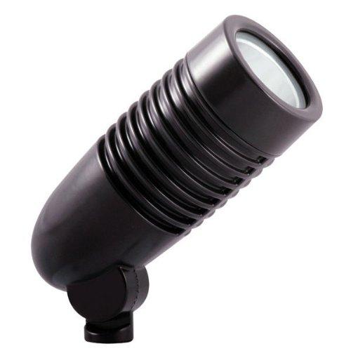 RAB Lighting LFLED5A 5-watt Led 5000K Stark White Landscape Lighting Flood Light Fixture 120208240 Bronze