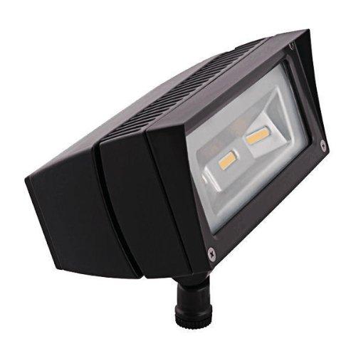 Rab Ffled18y - 18 Watt - Led - Landscape Lighting - Flood Light Fixture - 120208240277 Volt - Bronze Finish