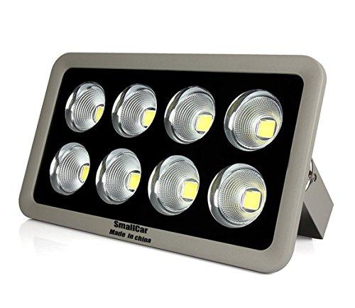Smallcar Cob Led Flood Light 400w Daylight White Outdoor Light Fixture Security Lights Ip66 Waterproof Ac 85-265v