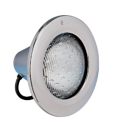 Hayward SP0581S15 AstroLite Underwater Lighting Stainless Steel Face Rim with 300-Watt 12-Volt Cord  15-Foot