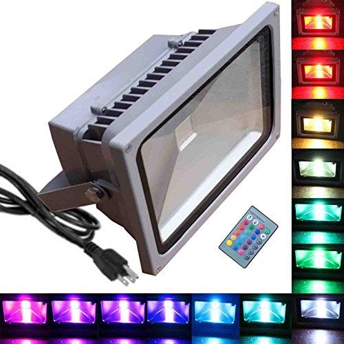 50w Rgb Flood Light - Tdltek 50w Rgb Color Changing Led Flood Light spotlightlandscape Lampoutdoor Security