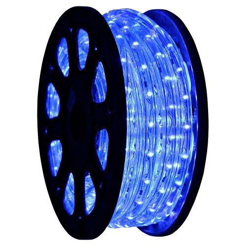 Gothobby 50 Led Rope Light Blue Home Outdoor Christmas Decorative Lighting 110v