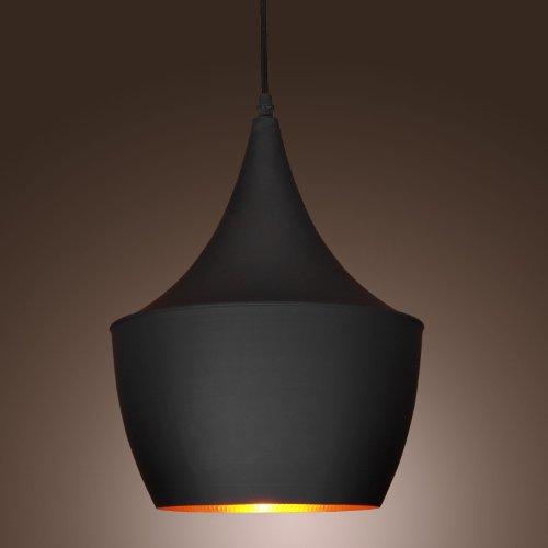 60w Pendant Light In Black Shade Moderncomtemporary Pendant Light Fit For Li