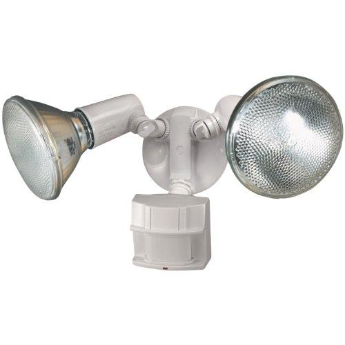Heath Zenith Hz-5411-wh Heavy Duty Motion Sensor Security Light white
