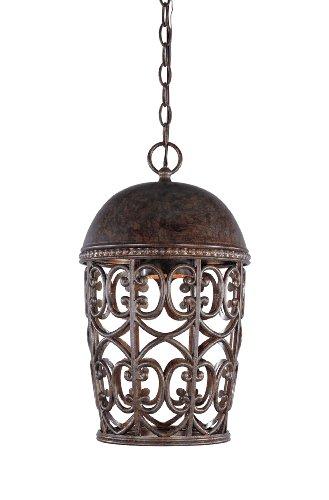 Designers Fountain 97594-BU Amherst 10 Inch Hanging Lantern