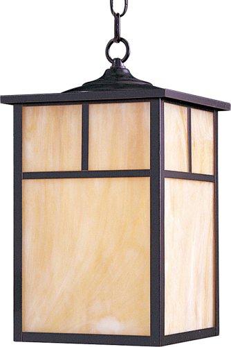 Maxim 4058HOBU Coldwater 1-Light Outdoor Hanging Lantern Burnished