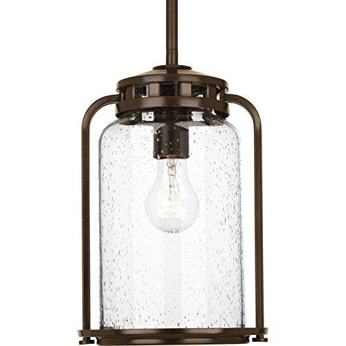 Progress Lighting P5561-20 1-100W Medium Base Hanging Lantern Antique Bronze