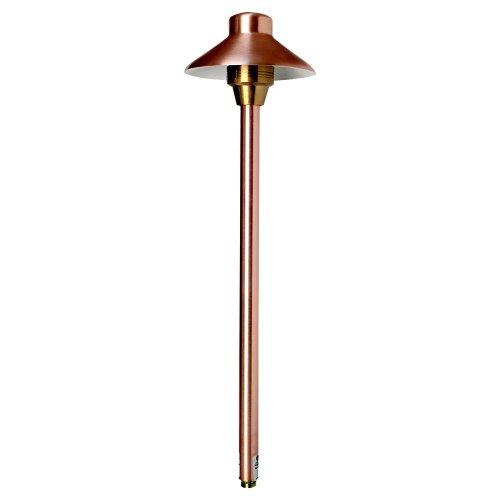Sea Gull Lighting 91174-148 Illuminator Area Pathway Lighting Fixture Natural Copper