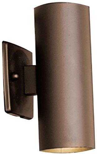 Kichler Lighting 15079azt Updown Accent 12-volt Deck And Patio Light Textured Architectural Bronze