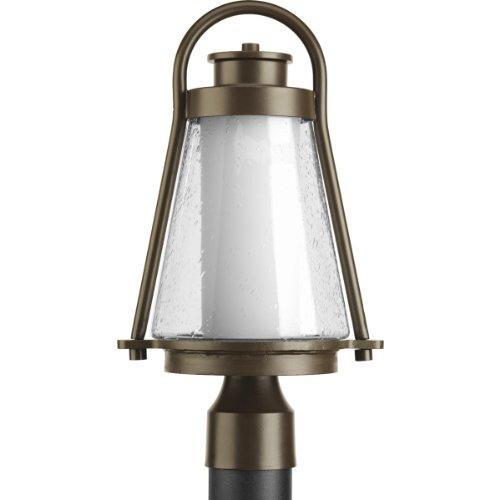 Progress Lighting P6405-20 Regatta Collection 1-Light Post Lantern Antique Bronze