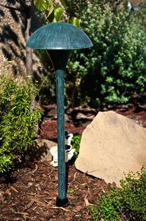 Hadco Lighting Mu5_g Mu5 Medium Mushroom Pathlyte 120v Verde Green
