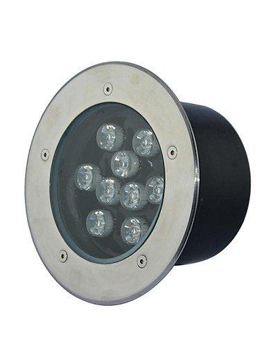 Aanll 9 LED High Power WarmPureCool White Underground Light AC85-265V  90-240v