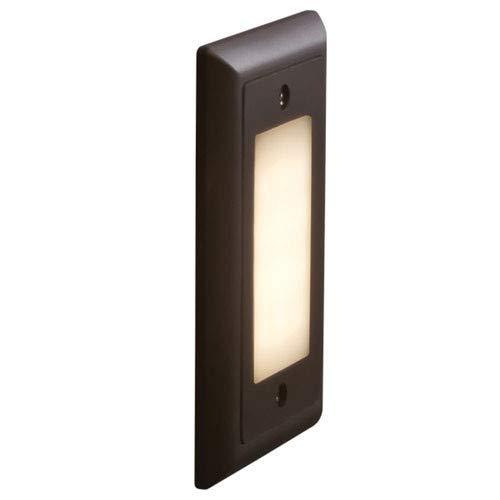Bruck Lighting 138021BZ3F Step 1 Single Light 4-34 Wide Integrated 3000K LED Landscape Step Light