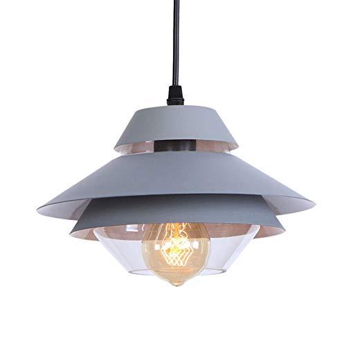 NDFSE-Pendant Lights Tieyi Pendant lamp American Simple Color Single-Head Retro Pendant lampGreen