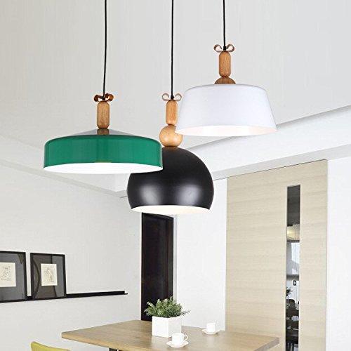 Qiaoba- Retro Lighting Living RoomBedroomKitchenBarRestaurantAisleBalcony Aluminum Pendant Light green