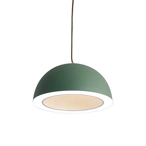 Tuls-62775G Modern Pendant Green Iron Lampshade Pendant Light Living Room Pendant Light