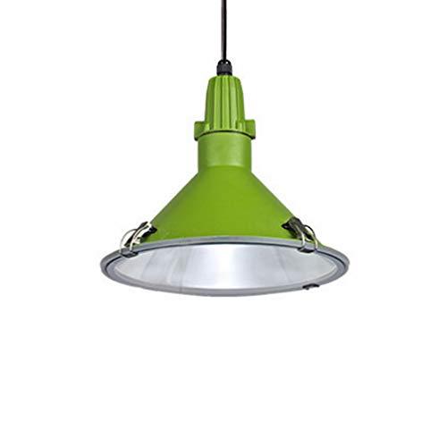 Tuls-Lighting Tuls-62438 Pendant Lamp Green Lampshade Droplight Metal Lampshade Chandelier 1-Light Lighting Fixture 4331H Metal Light