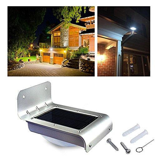 24 LED Solar Power Outdoor Waterproof Lamp PIR Motion Sensor Security Light