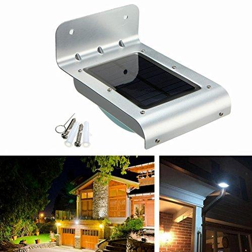 BestStar Solar Power Outdoor Waterproof Lamp 24 LED PIR Motion Sensor Security Light