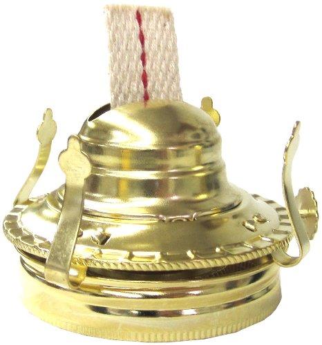 Glo Brite By 21st Century L27pb Mason Jar Oil Lamp Burner Antique Brass