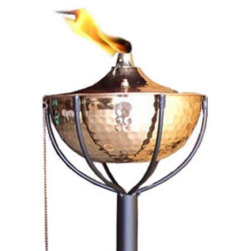 Maui Tiki Torch Landscape Torch Tiki Lamp Deck Lighting Oil Lamp Backyard Decor Outdoor Lighting Hammered Copper
