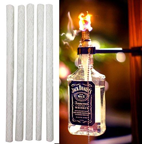 Kentucky 10-inch Fiberglass Tiki Torch Wicks pack Of 12