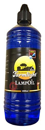 Bright Lights Blue Paraffin Lamp Oil -1 Liter