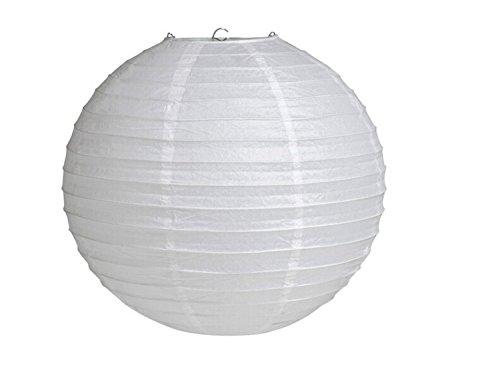 Generic GEN75465 12-Inch Paper Lantern Lamp Shades White 12-Pack