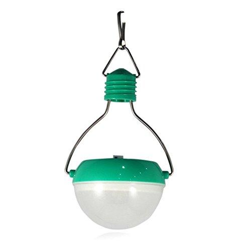 KELOMTECHNOLOGY Super Bright 7 LED Bulbs Solar Sports Light 3w 2v100ma Outdoor Sun Power Camping Lamp Green Solar Lantern