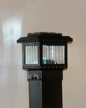 Polaris Mini Solar Deck Light 2-12 Post 1W LED Black