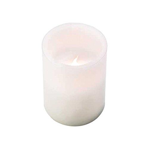 Koehlerhomedecor Classic White Flameless Candle