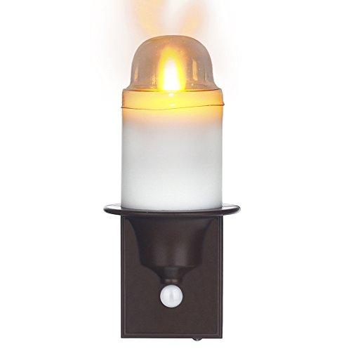 Comenzar LED PIR Sensor Spoka Night Light Flameless Candle with Battery Power operated Sensing Anywhere LED Stick Nightlight