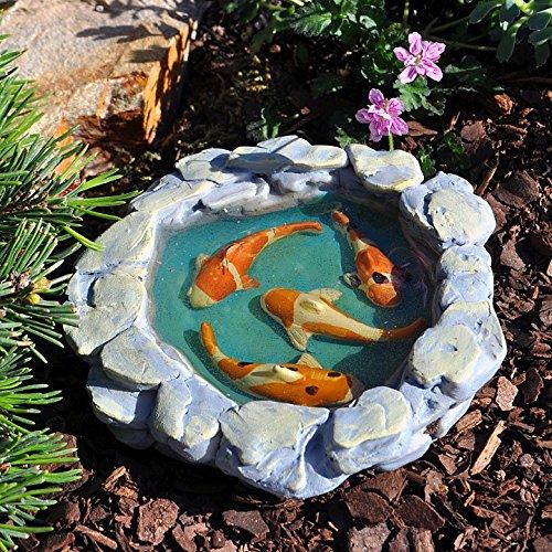 Miniature Fairy Garden Tranquil Koi Pond