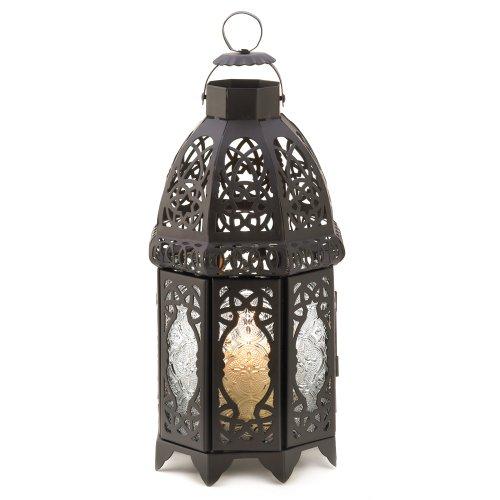 Gifts Decor Lattice Lantern Candle Holder Home Wedding Decor Black