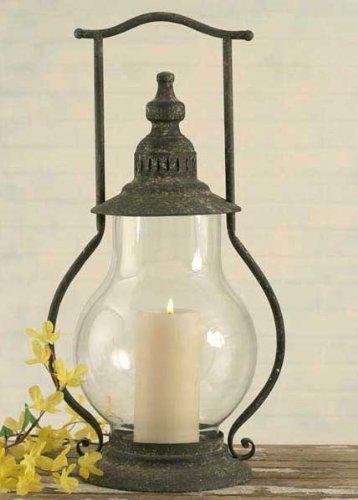 Vintage Style Steeple Indoor Outdoor Lantern Candleholder Candle Holder