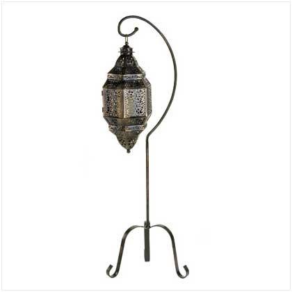 C Alan 12575 Moroccan Candle Lantern Stand