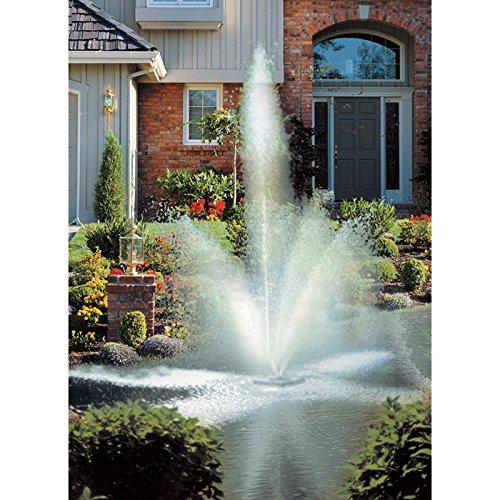 Scott Aerator Clover BIG SHOT Floating Fountain - 12 HP 110 Volt 70-Ft Power Cord