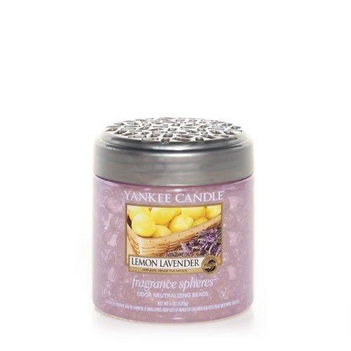 Yankee Candle Lemon Lavender Fragrance Spheres Odor Neutralizing Beads Fresh Scent Size 6 Oz Model  Caramp