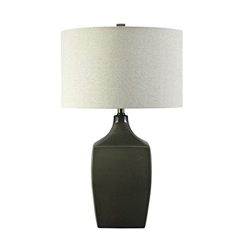 Signature Design By Ashley Dark Green Ceramic Table Lamp